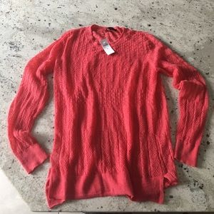 Ann Taylor NWT Coral Sweater Medium